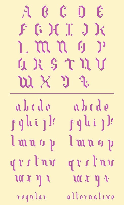 Download Meneide font (typeface)