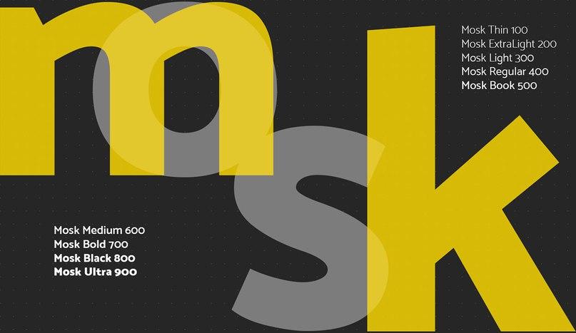 Download Mosk font (typeface)
