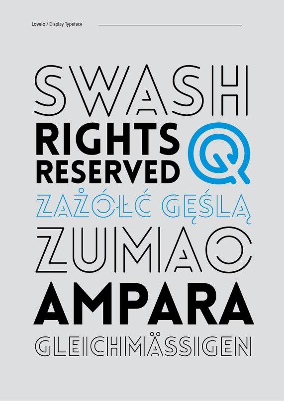 Download lovelo font (typeface)