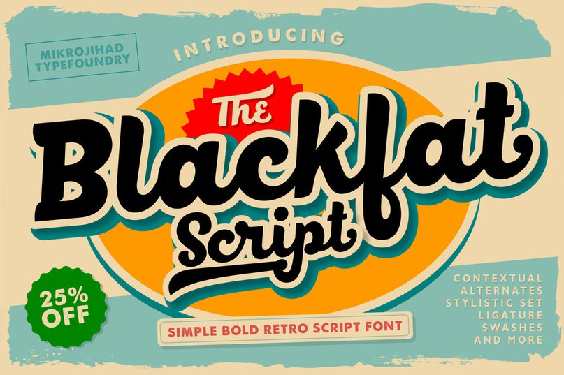 Download blackfat font (typeface)