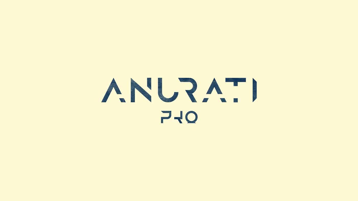 Download ANURATI Pro font (typeface)