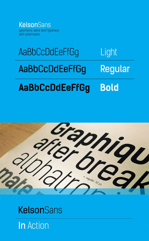 Download kelson font (typeface)