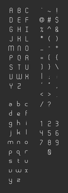 Download stroke font (typeface)
