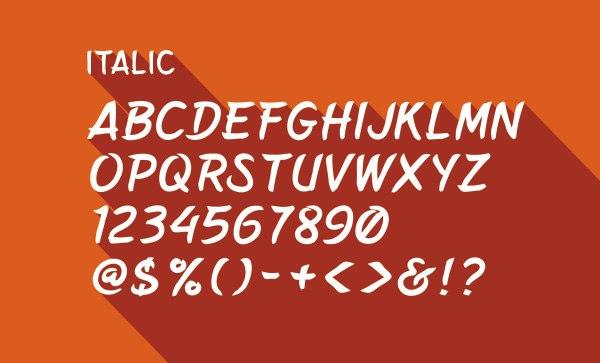Download Belepotan font (typeface)