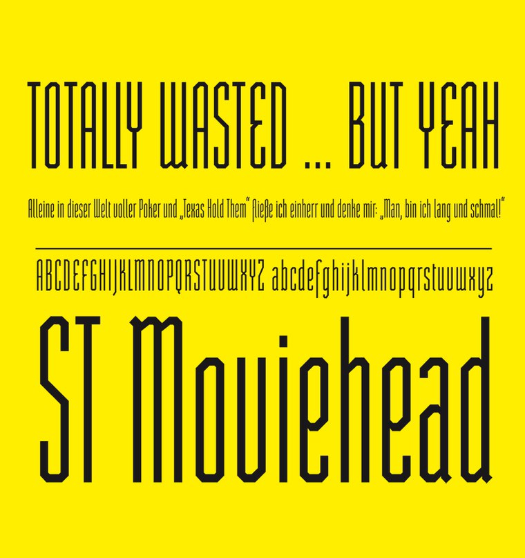 Download st moviehead font (typeface)