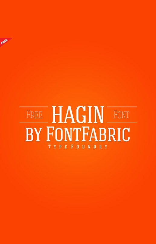 Download hagin font (typeface)