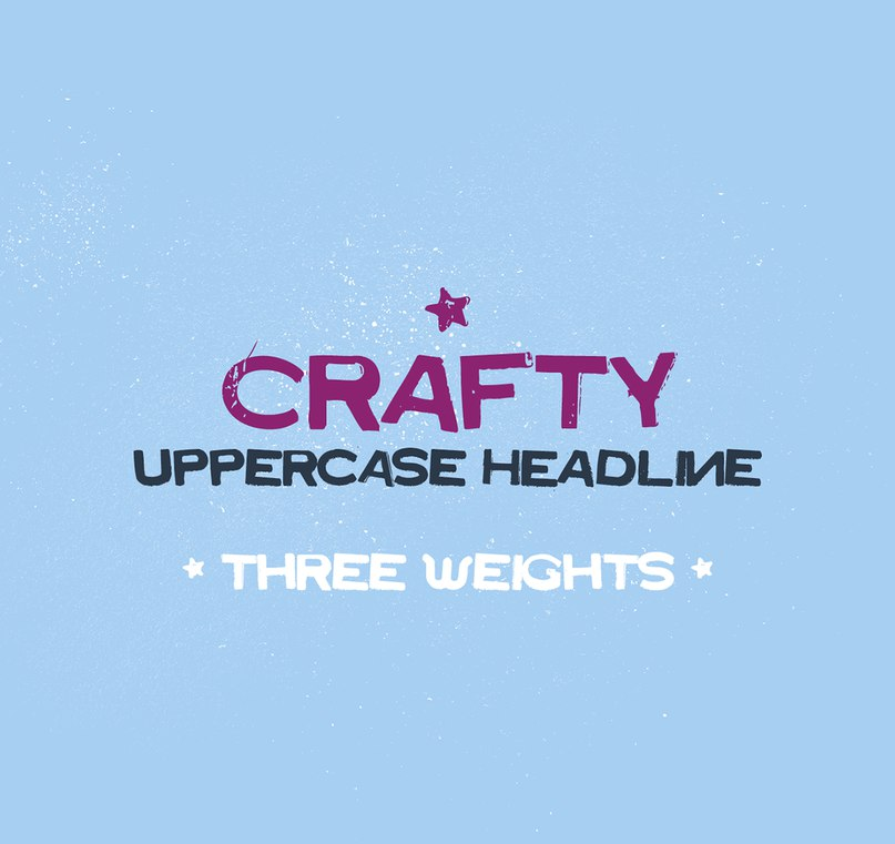 Download Crafty font (typeface)