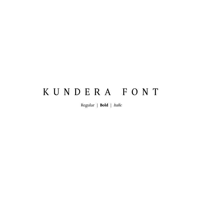Download Kundera font (typeface)