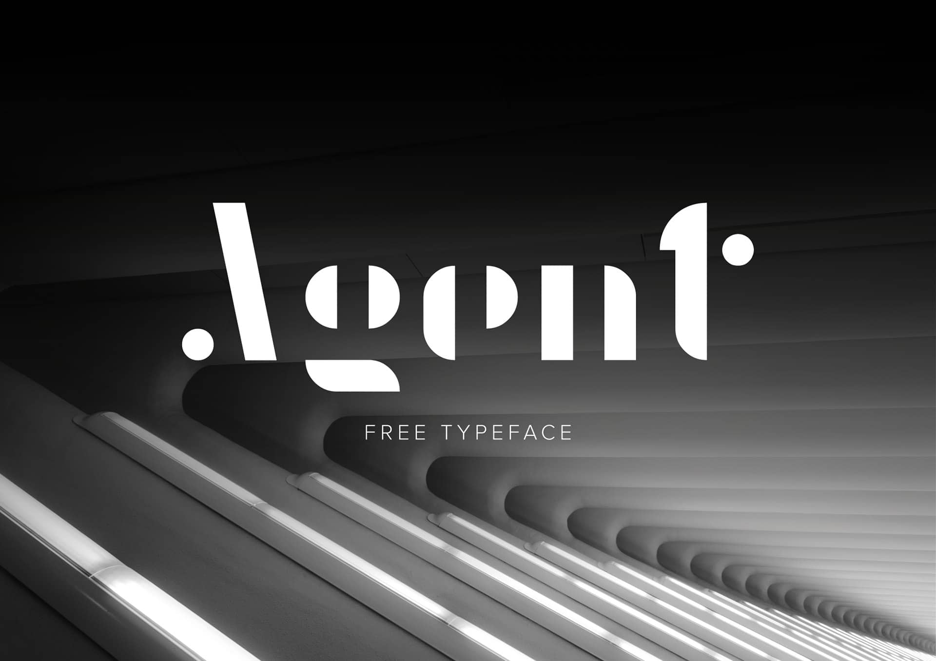 Download Agent Typeface font (typeface)
