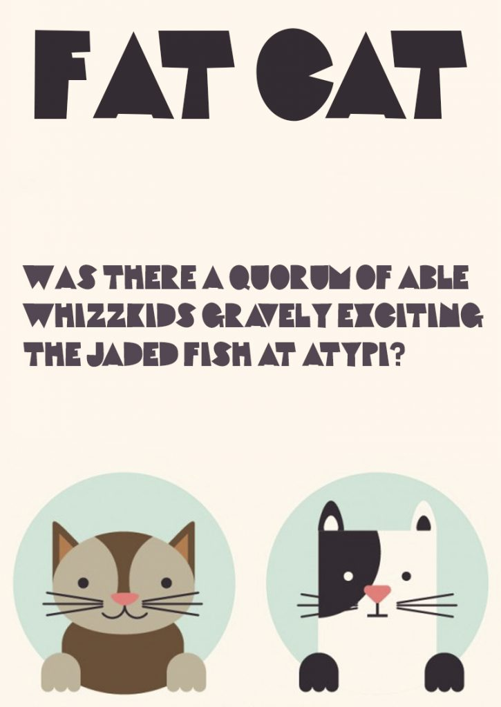 Download Fat Cat font (typeface)