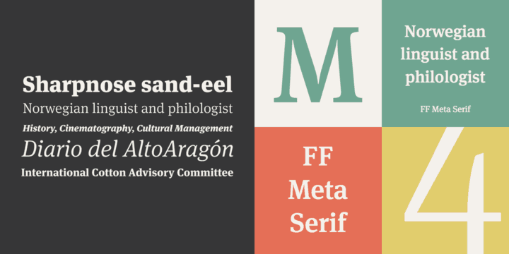 Download FF Meta Serif font (typeface)