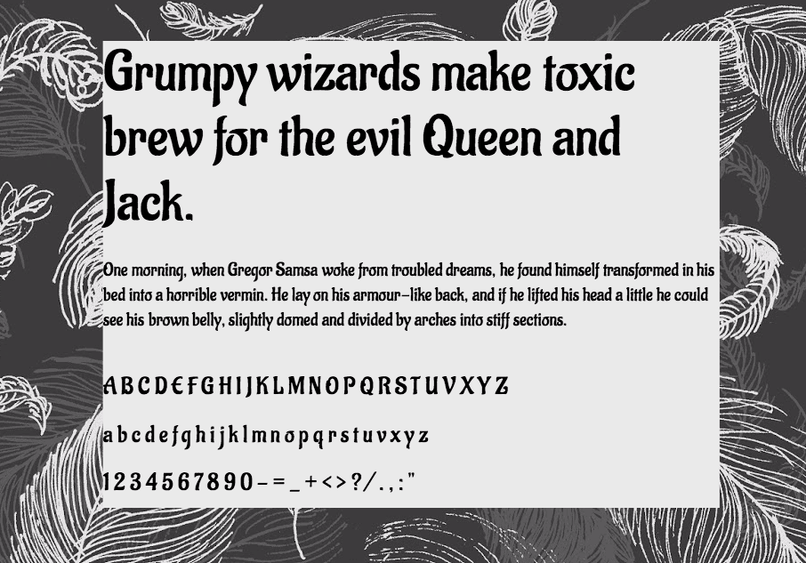 Download Aladin font (typeface)