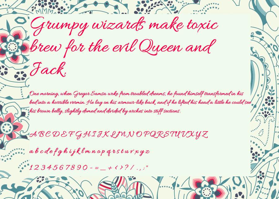 Download Allura font (typeface)