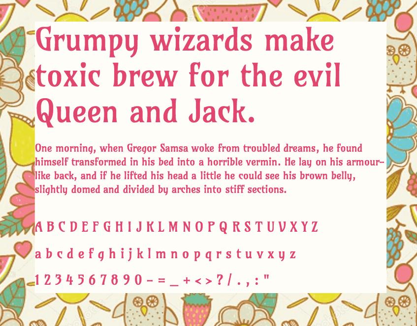 Download Amarante font (typeface)
