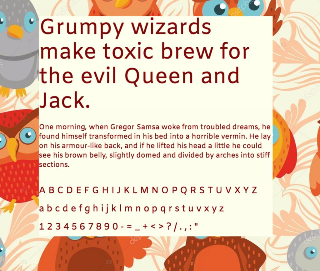 Download Amiko font (typeface)