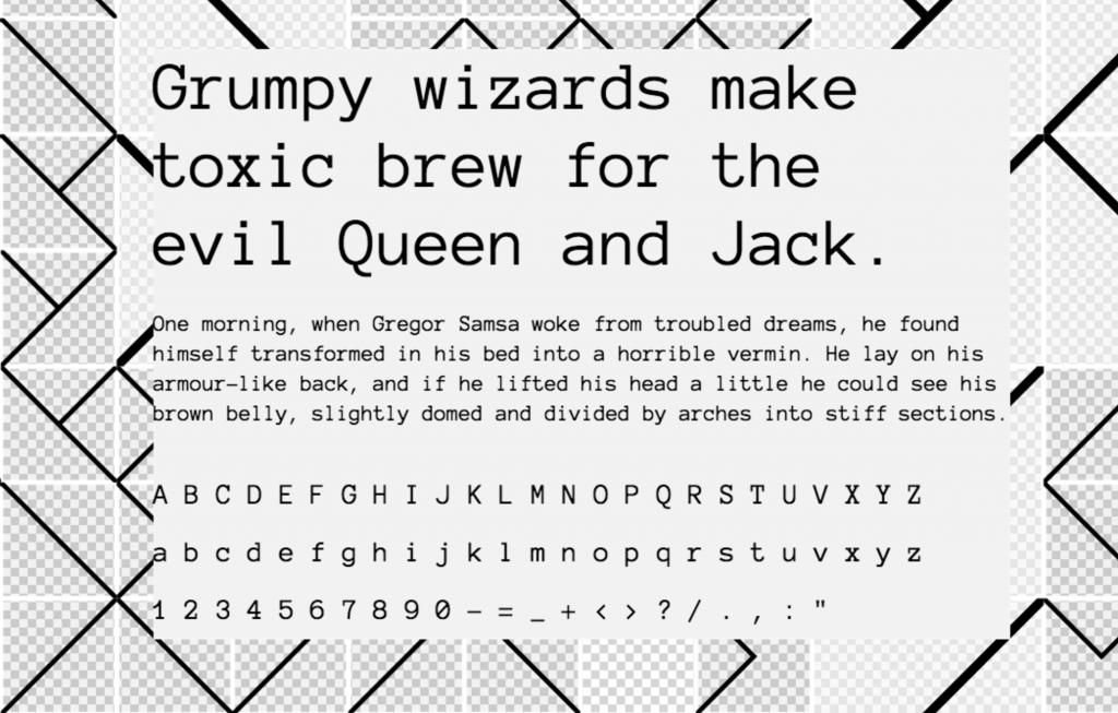 Download Anonymous Pro font (typeface)