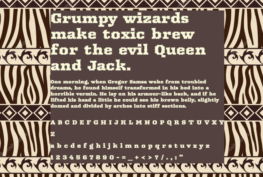 Download Arbutus font (typeface)