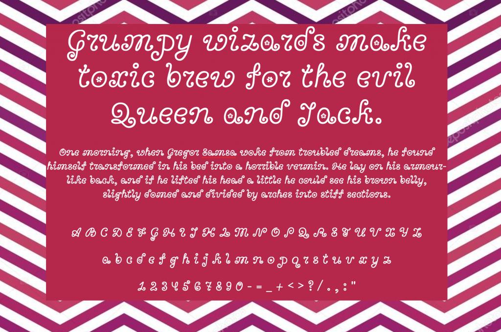 Download Bonbon font (typeface)