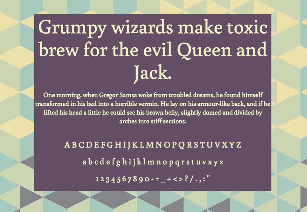 Download Buenard font (typeface)