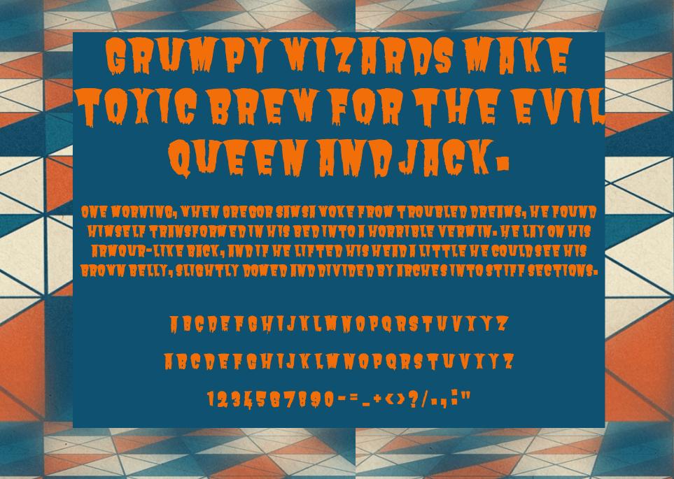 Download Butcherman font (typeface)