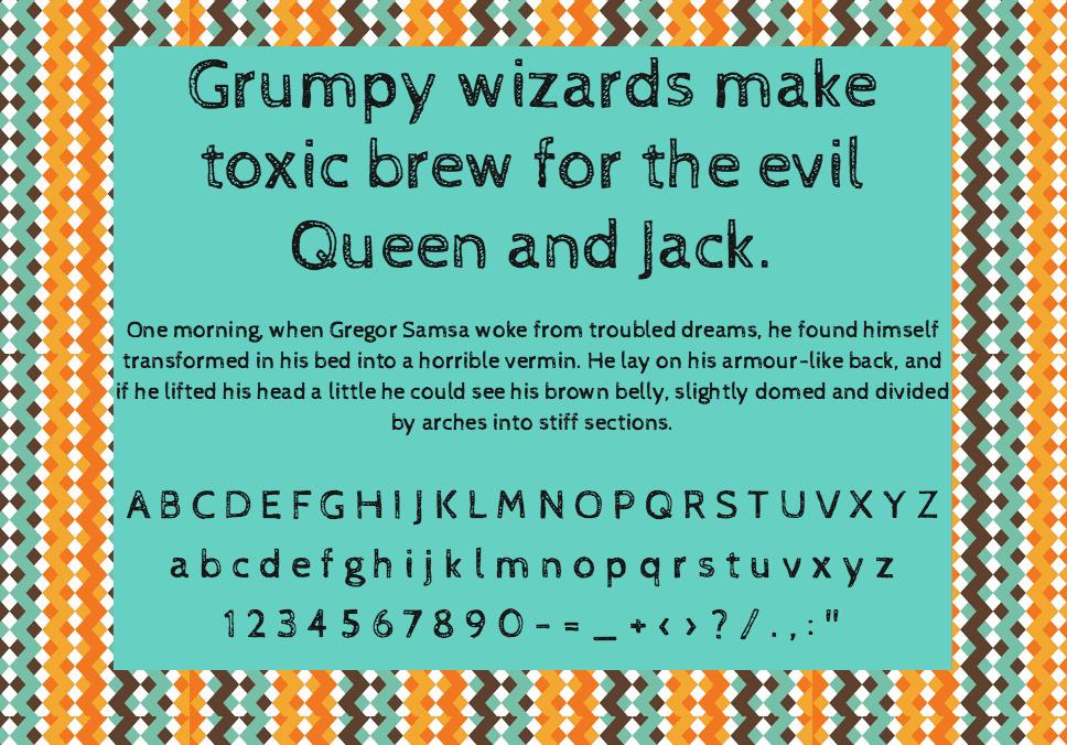 Download Cabin Sketch font (typeface)
