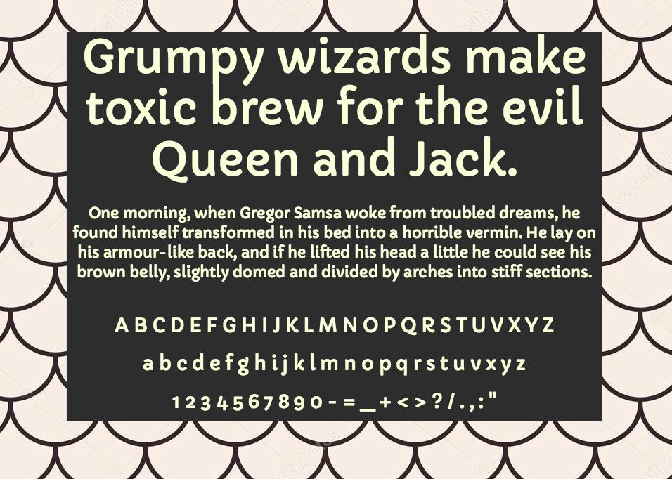 Download Capriola font (typeface)