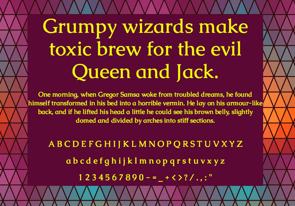 Download Caudex font (typeface)