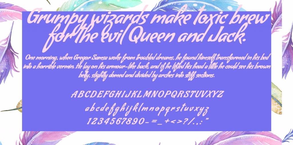 Download Condiment font (typeface)