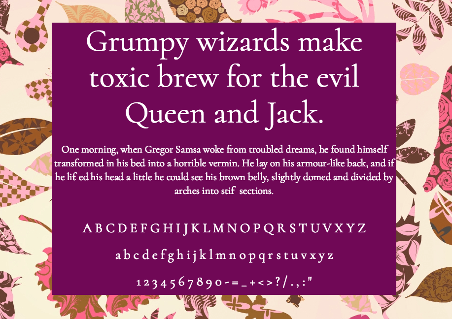 Download Cormorant font (typeface)