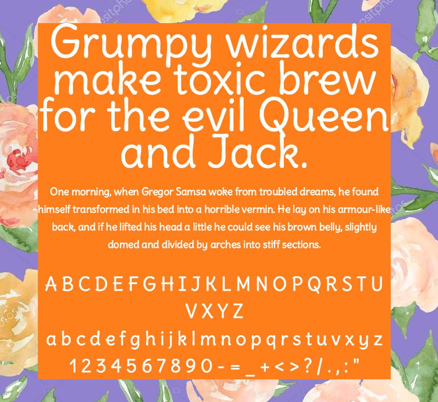 Download Delius font (typeface)
