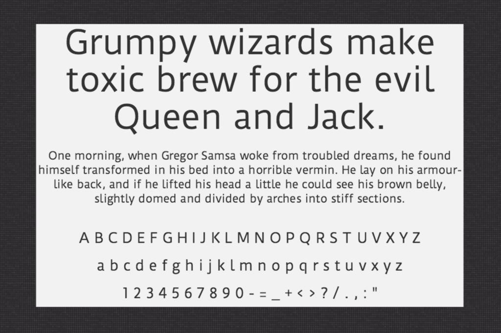 Download Duru Sans font (typeface)