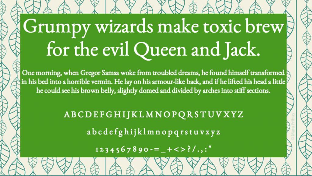Download EB Garamond font (typeface)