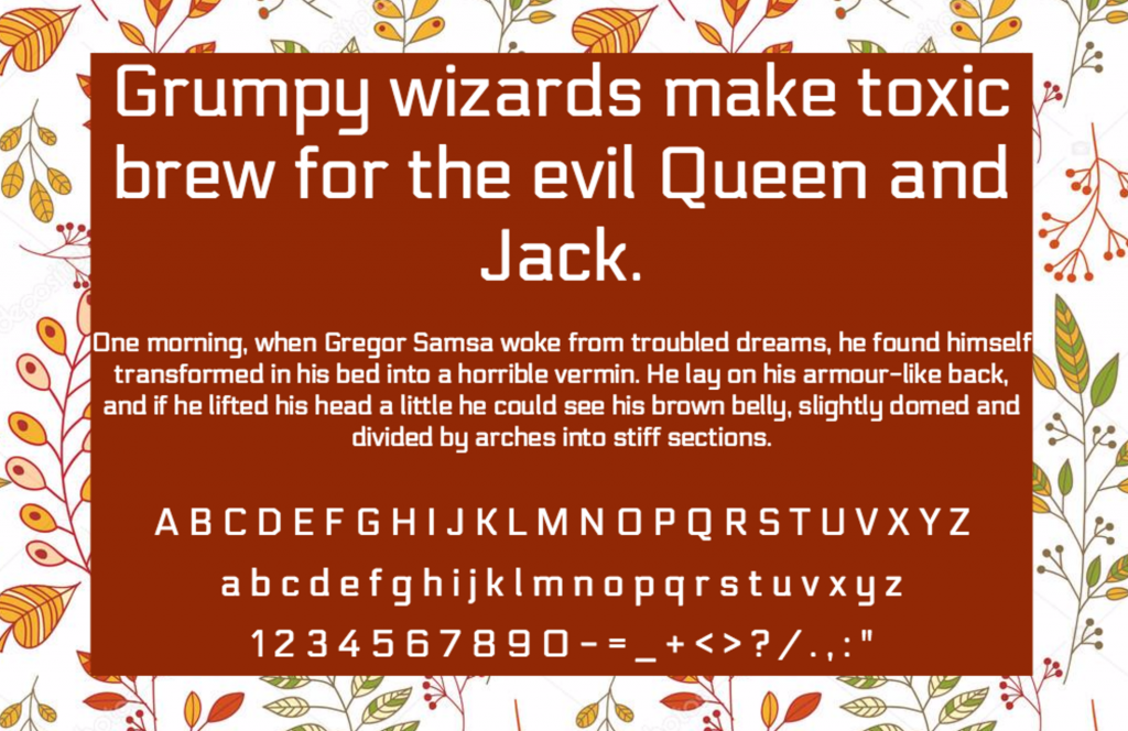 Download Electrolize font (typeface)