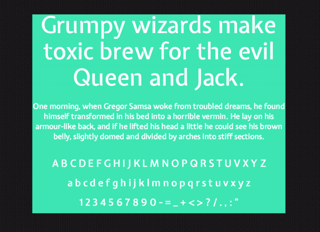 Download Expletus Sans font (typeface)