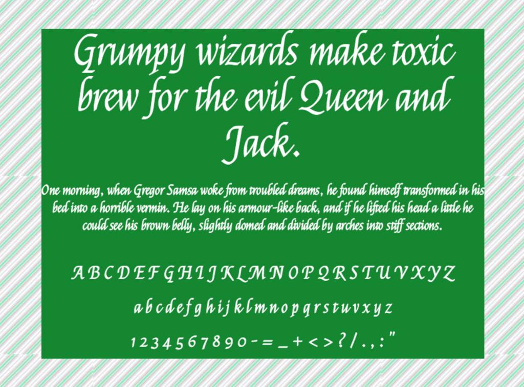 Download Felipa font (typeface)