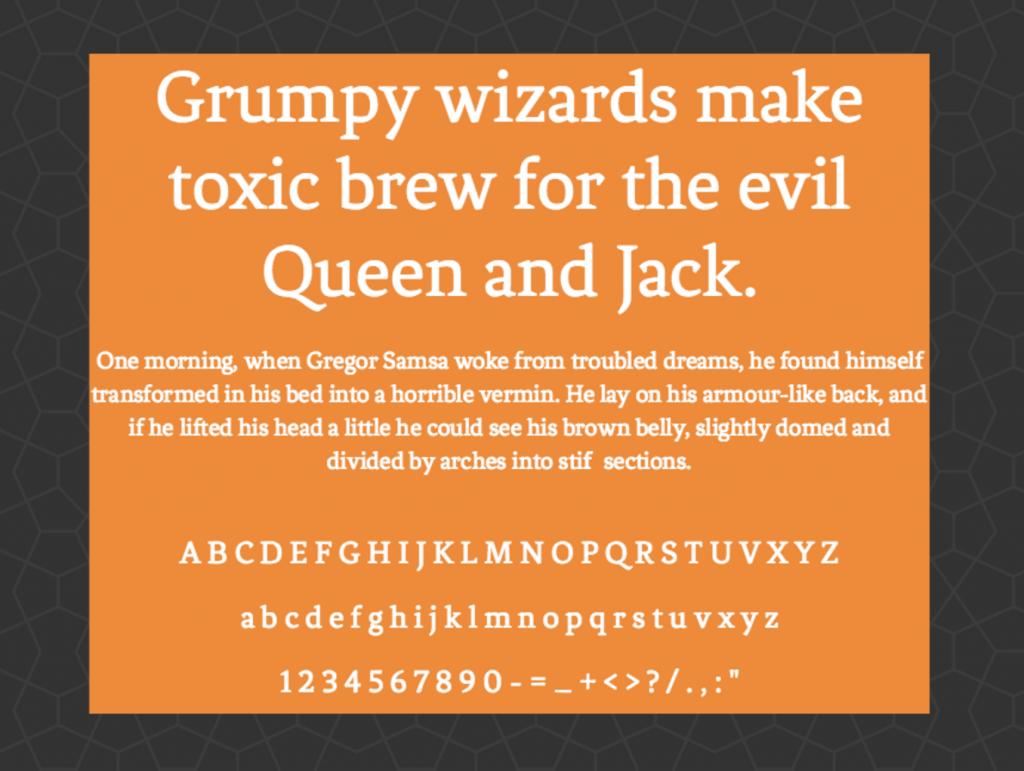 Download Fenix font (typeface)