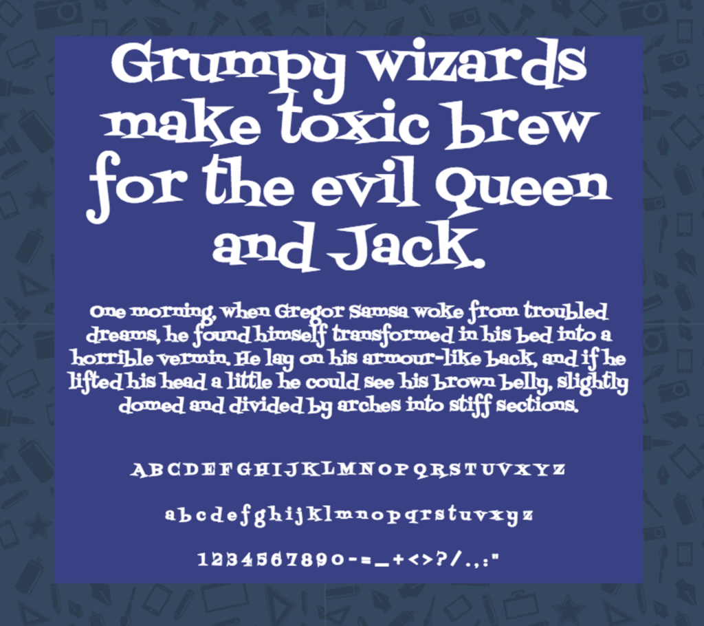 Download Fontdiner Swanky font (typeface)
