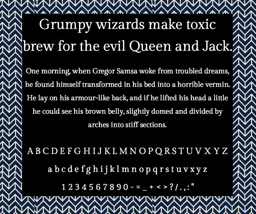 Download Gilda Display font (typeface)