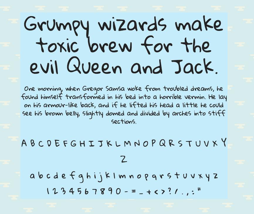 Download Gloria Hallelujah font (typeface)