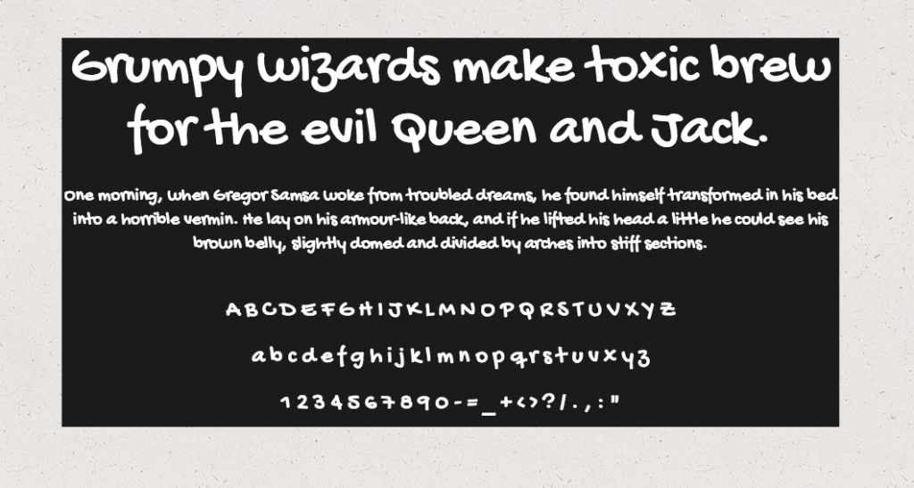 Download Gochi Hand font (typeface)