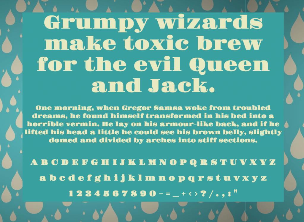 Download Gravitas One font (typeface)