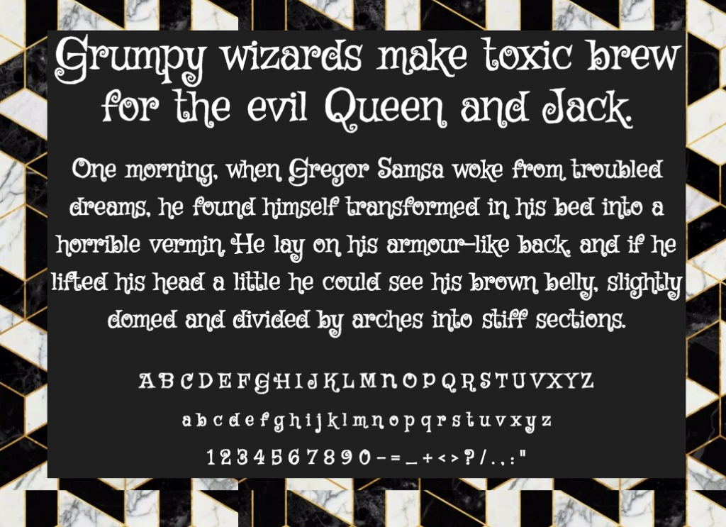Download Griffy font (typeface)