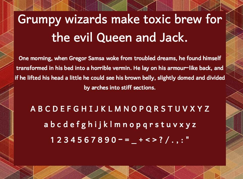 Download Harmattan font (typeface)