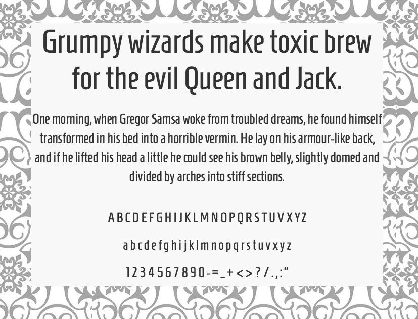 Download Homenaje font (typeface)