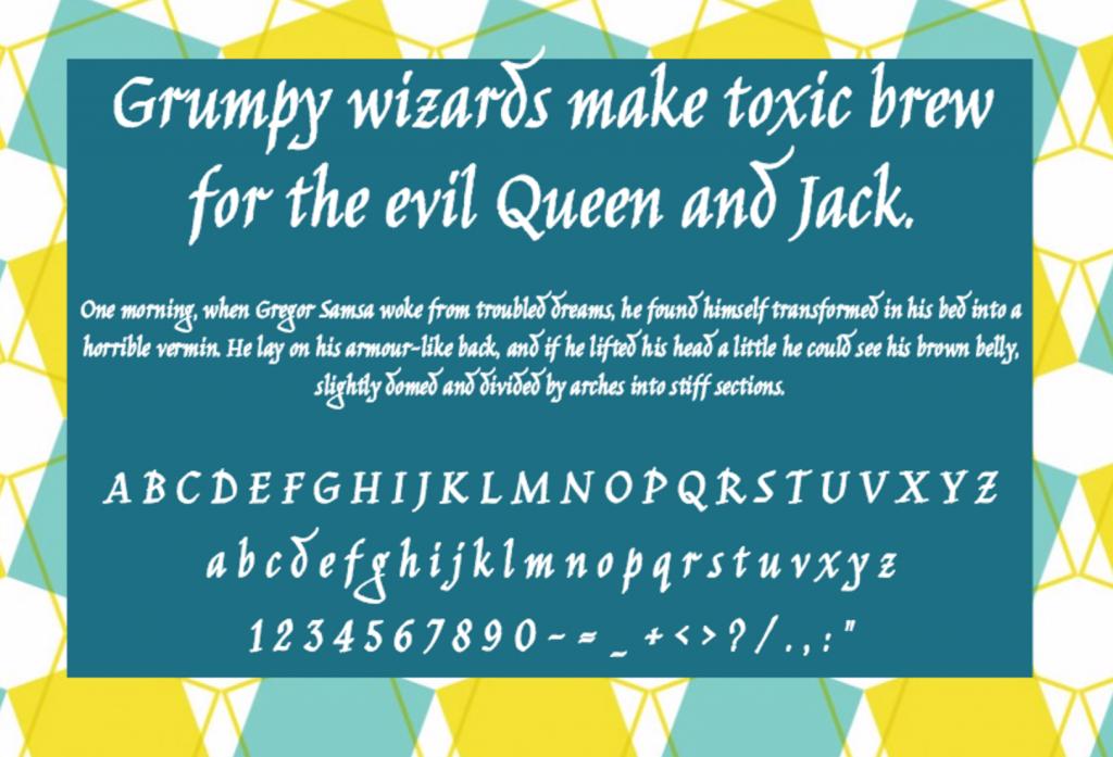 Download Jim Nightshade font (typeface)