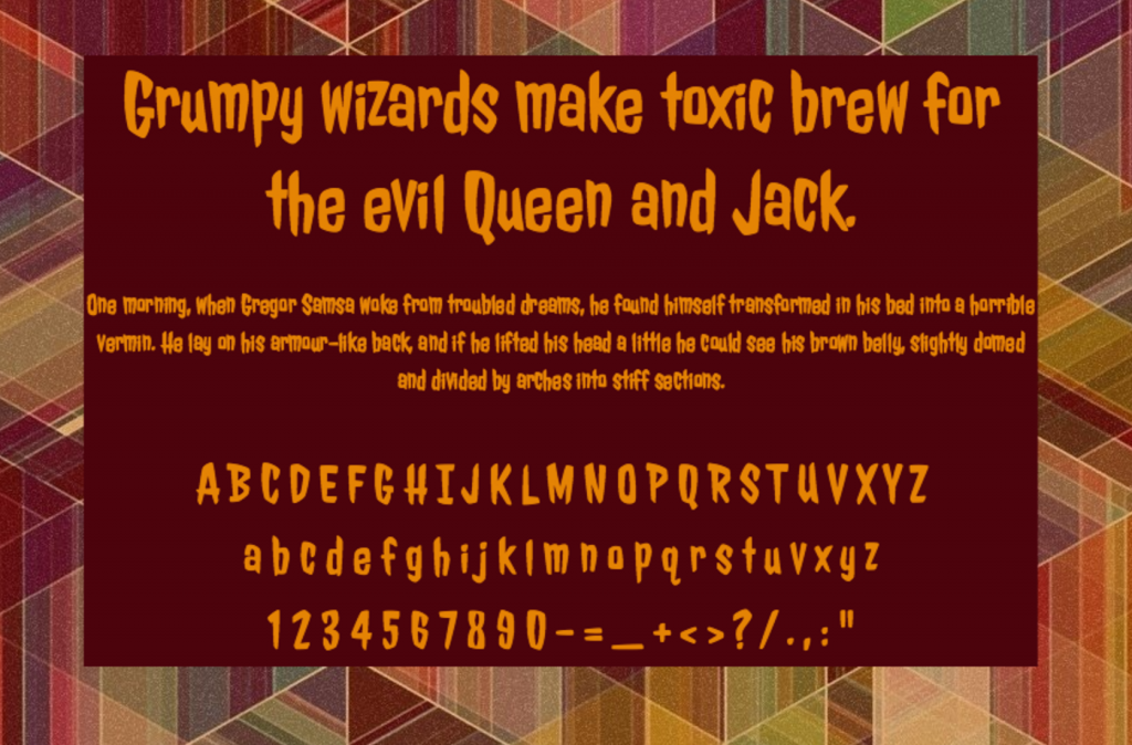 Download Jolly Lodger font (typeface)