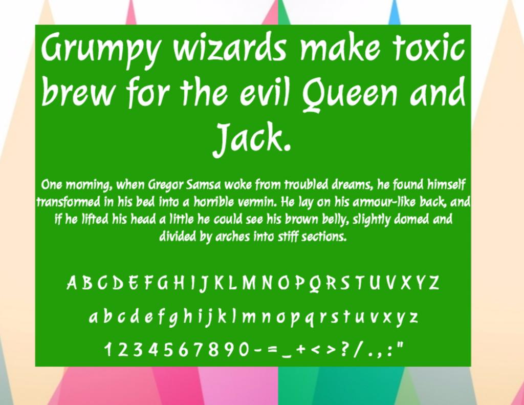 Download Julee font (typeface)