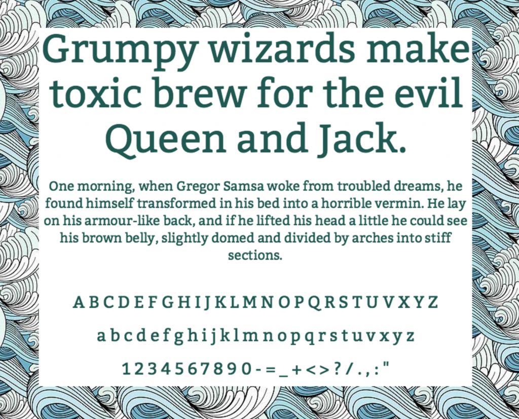 Download Kadwa font (typeface)