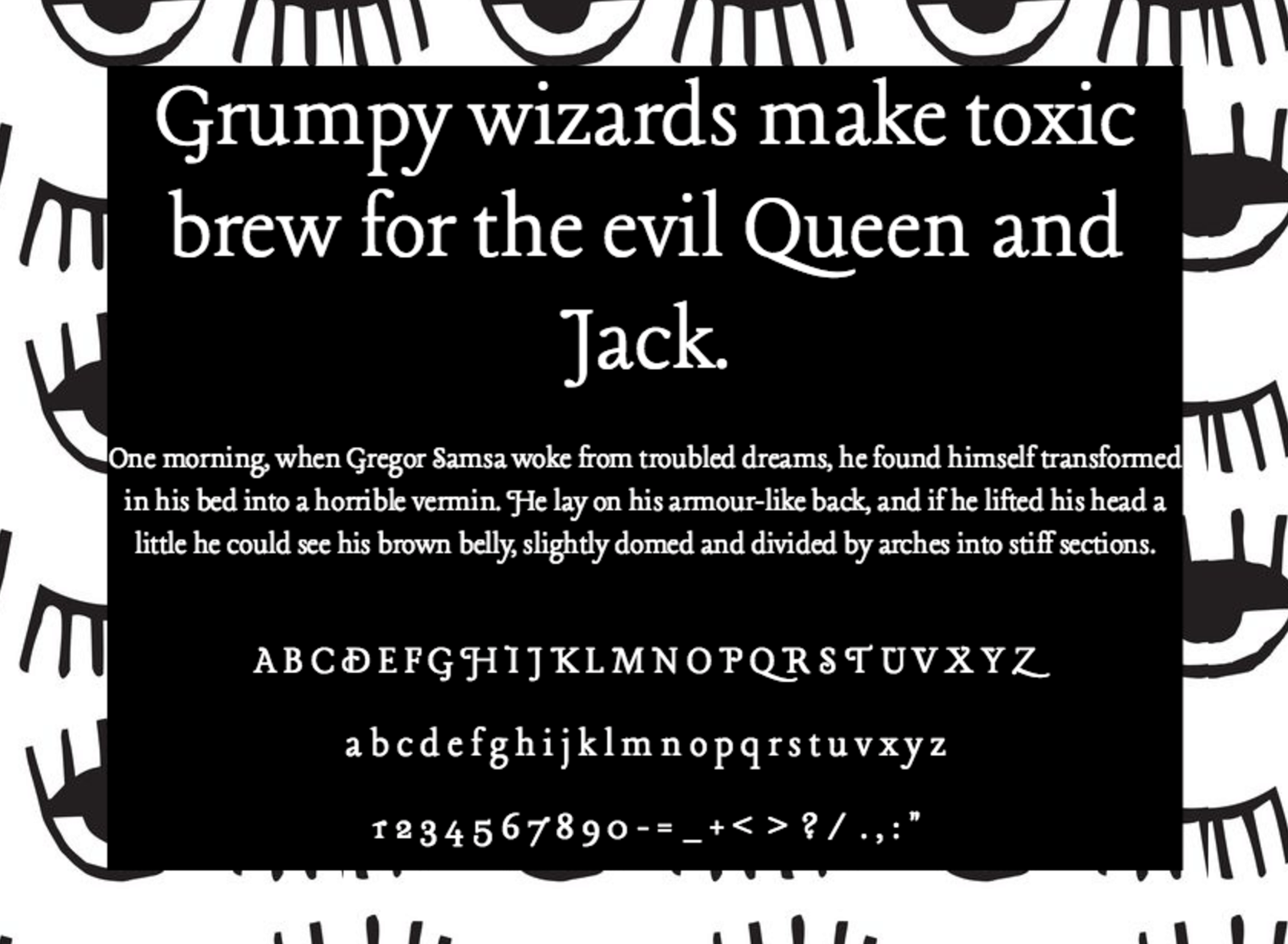 Krinkles decor font free download