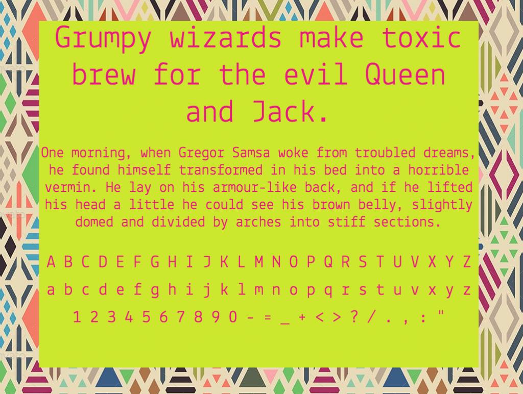 Download Lekton font (typeface)